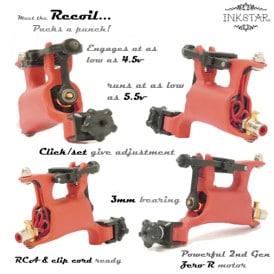 Inkstar Recoil Rotary Tattoo Gun 5