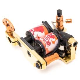 Golden tattoo machine coil diamond shader 6