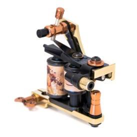 Golden tattoo machine coil diamond liner 3