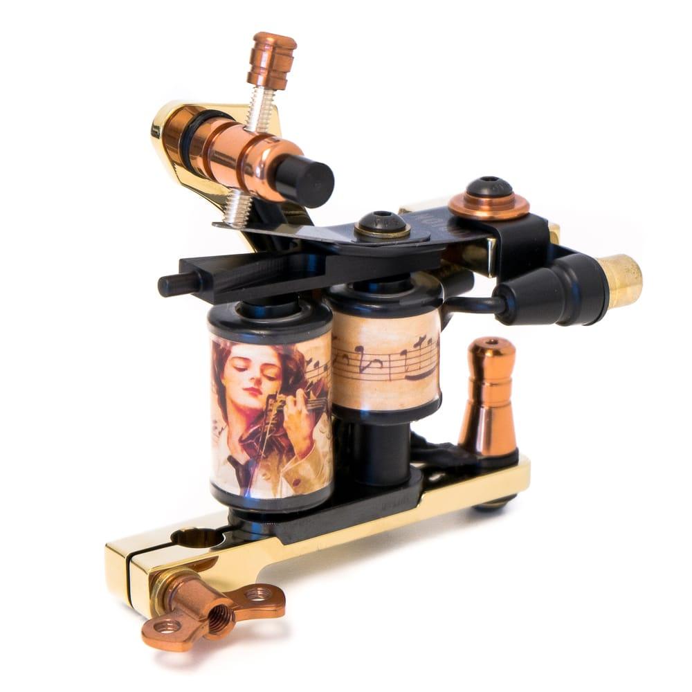 Golden tattoo machine coil diamond liner 4