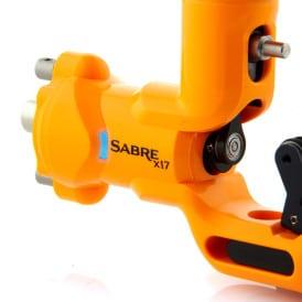 Sabre tattoo machine X17 lava orange 4
