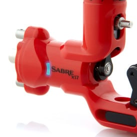 Sabre tattoo machine X17 signal red 3