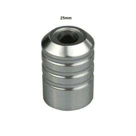 hawk pen grip 25mm silver