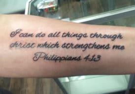 Bible Passage Tattoo