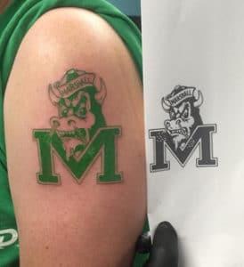University Tattoo