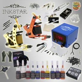 Inkstar Tattoo Kit Journeyman C 10 Ink set