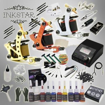 inkstar tattoo kit apprentice c and 10 inks