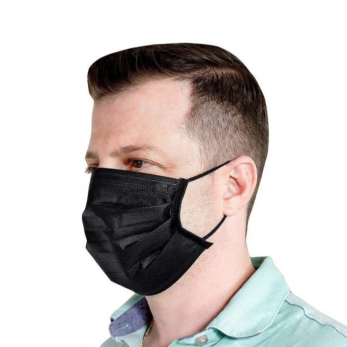 Black Disposable Face Mask Canada 5