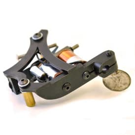 iron inx tattoo machine jensen matt black shader 6