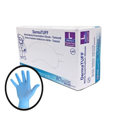 bower medical supplies derma tuff nitrile gloves gallery