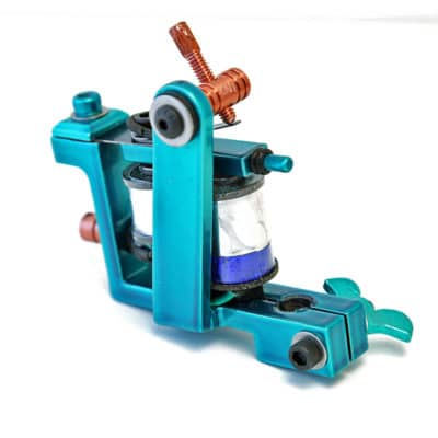 iron inx tattoo machine bulldog teal liner