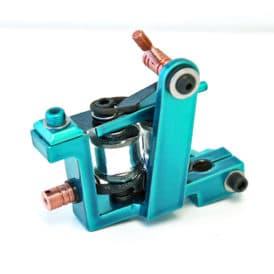 iron inx tattoo machine bulldog teal liner 2