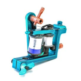 iron inx tattoo machine bulldog teal liner 5