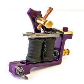 iron inx tattoo machine modified jensen purple liner 7