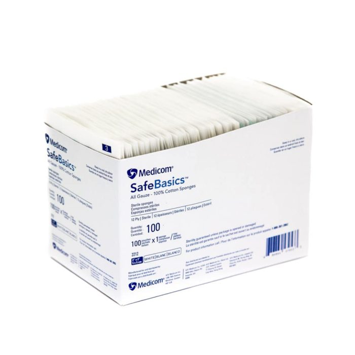 Medicom Sterile Gauze Pads