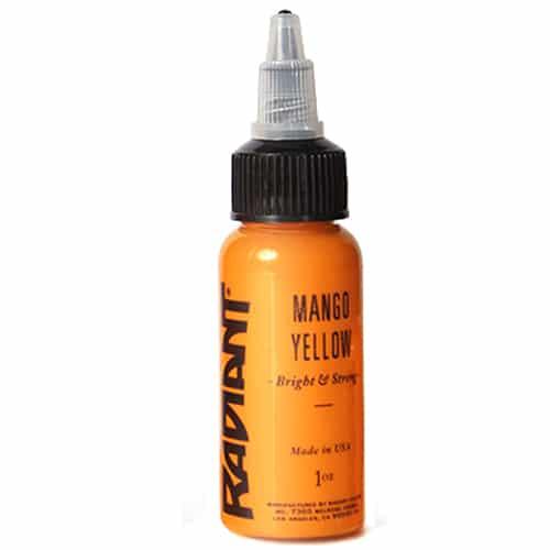 radiant colors mango yellow 1oz