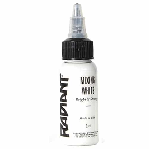 radiant colors mixing white 1oz