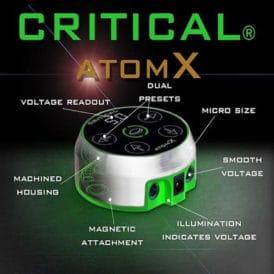Critical Tattoo Power Supply Atom X 3