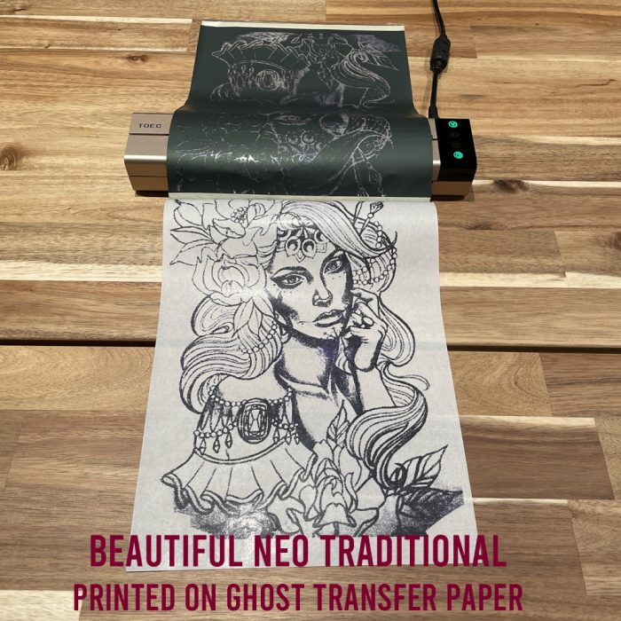 TOEC Tattoo Printer Examples Neo Traditional