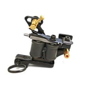 Iron Inx Machine Black Coleman Shader