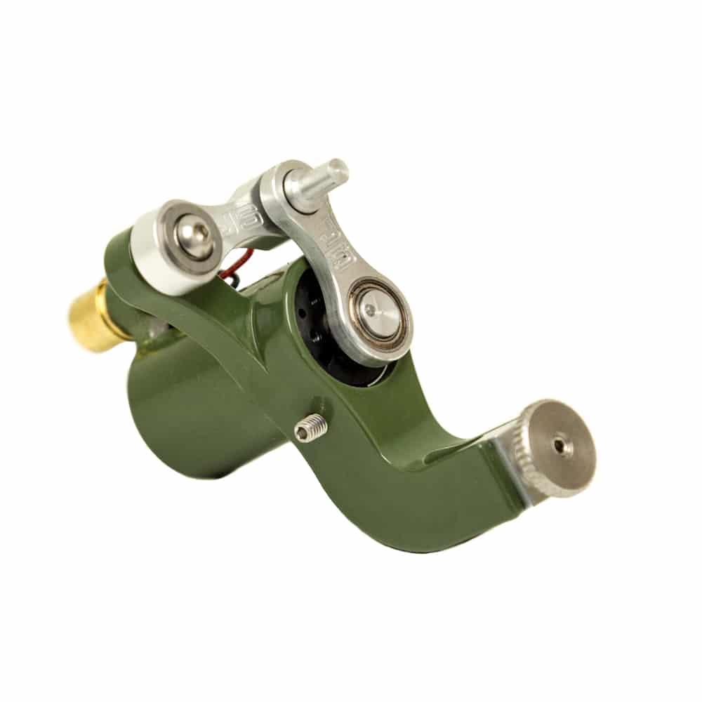 Jack Steel Tattoo Machine Green 2