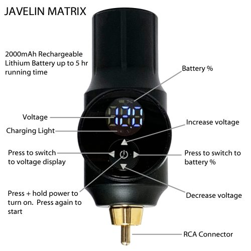 Javelin Matrix Instructions 1