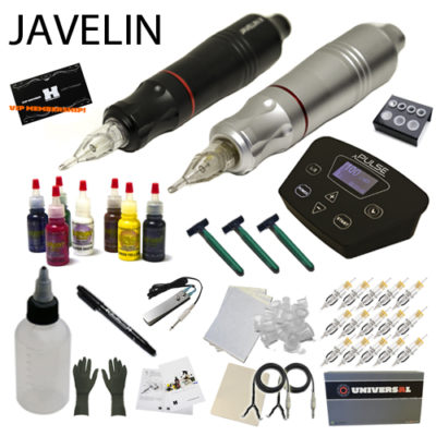 Javelin Tattoo Pen Kit 7 Color Ink set