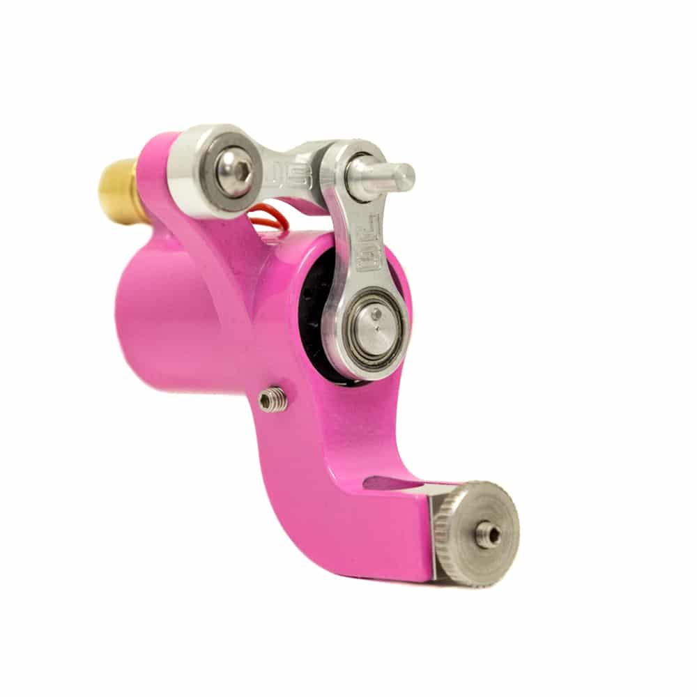 Jack Steel MK3 Rotary Tattoo Machine Pink