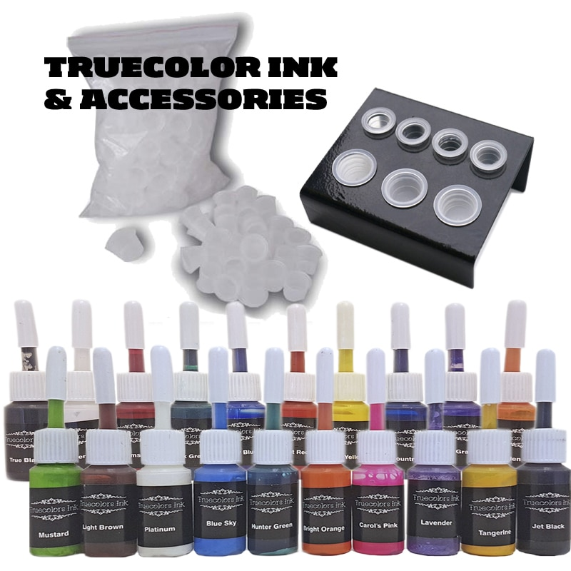 Tattoo Kit: Venture Rotary & 20 Truecolor Ink Sets