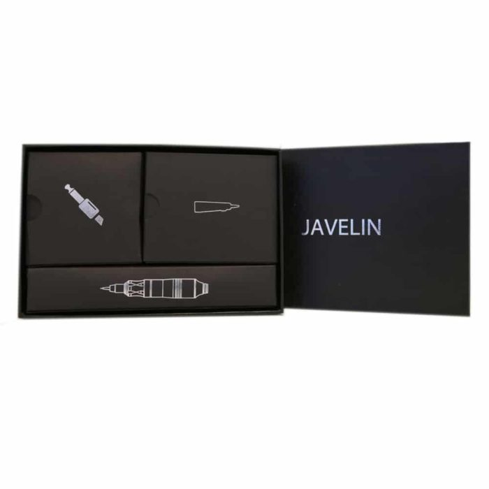 Javelin Rotary Tattoo Pen: Smooth Silver