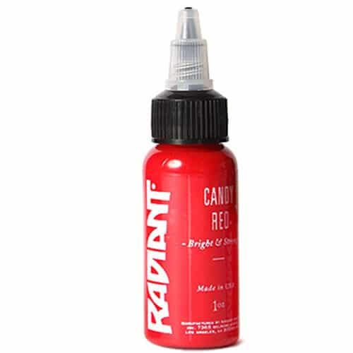 Tattoo Ink: Radiant Candy Red