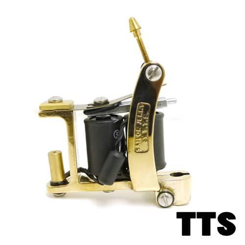 TTS Tattoo Machines: Brass Bulldog
