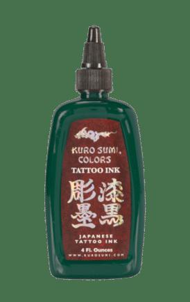 Kuro Sumi Tattoo Ink Bamboo Green
