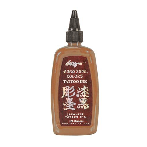 Kuro Sumi Tattoo Ink - Chi Red