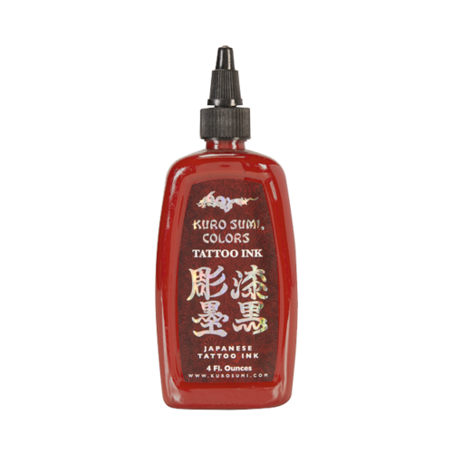 Kuro Sumi Tattoo Ink - Dragon's Breath Red