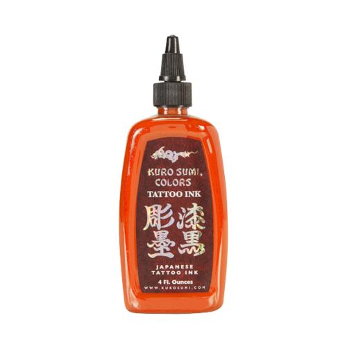 Kuro Sumi Tattoo Ink - Rising Sun Orange