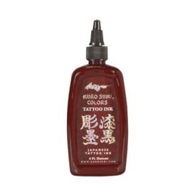Kuro Sumi Tattoo Ink - Saipan Red