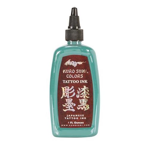 Kuro Sumi Tattoo Ink - Snow Willow Blue