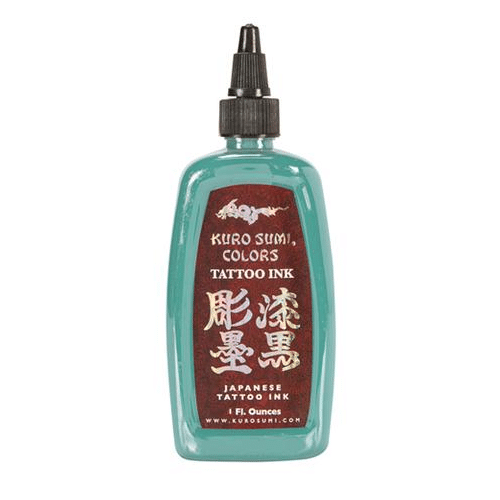 Kuro Sumi Tattoo Ink - Snow Willow Blue