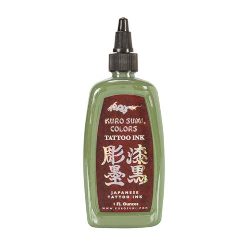 Kuro Sumi Tattoo Ink - Wasabi Green