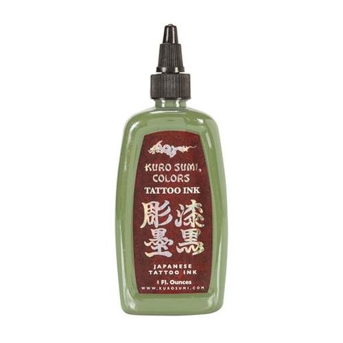 Kuro Sumi Tattoo Ink - Wasabi Green