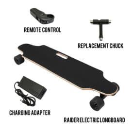 Raider Electric Skateboard 12