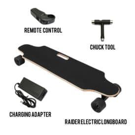 Raider Electric Skateboard 12 Updated