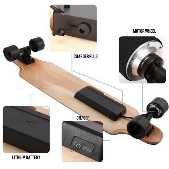 Raider Electric Skateboard 7