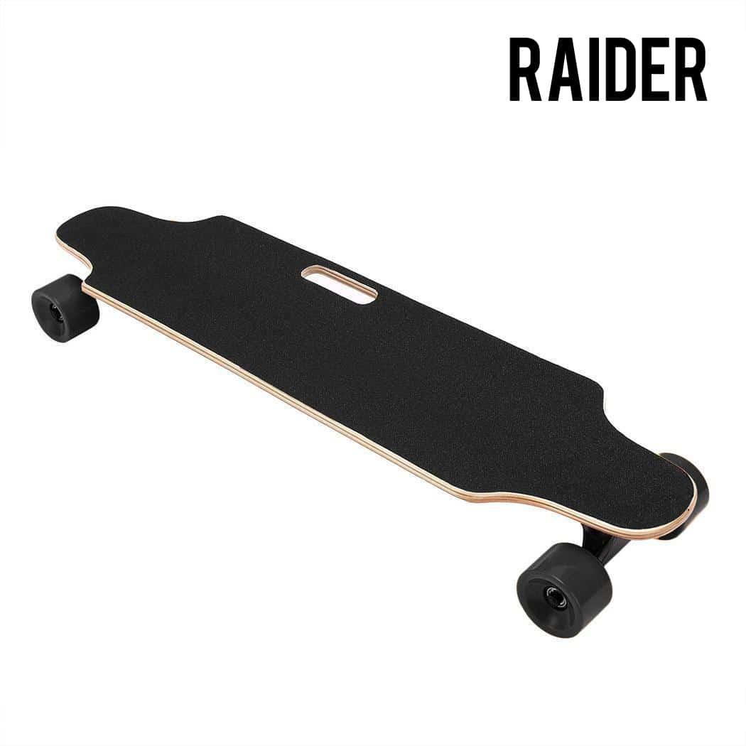 Cheap Electric Skateboard >> The Raider Electric Skateboard Longboard