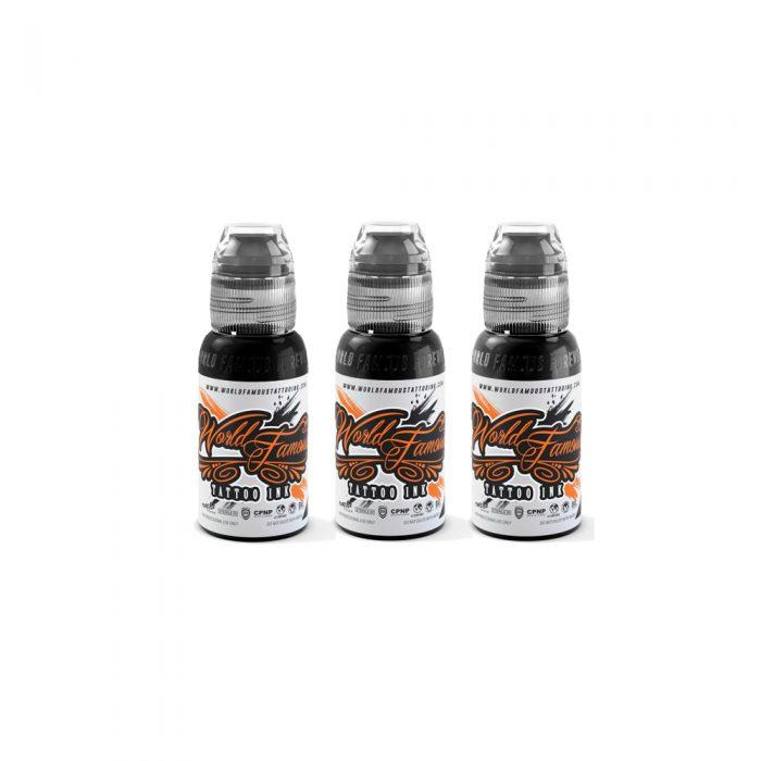 World Famous 3 Bottle Greywash Set
