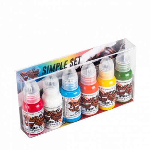 World Famous Simple 6 Color Set 1oz