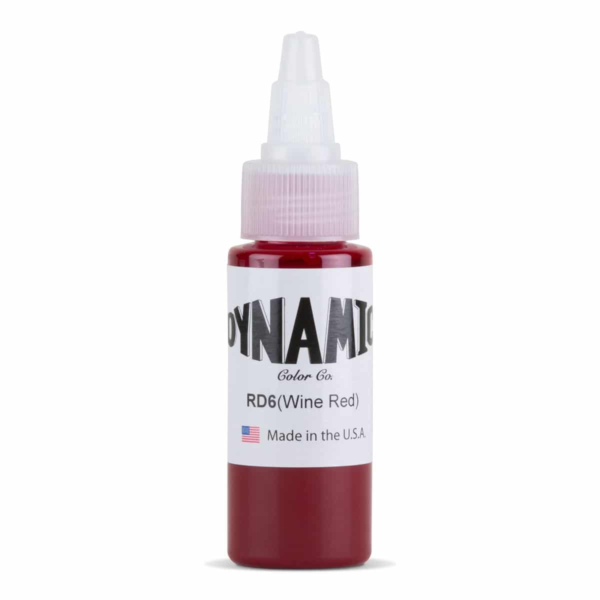 Dynamic Color Tattoo Ink: Red Wine