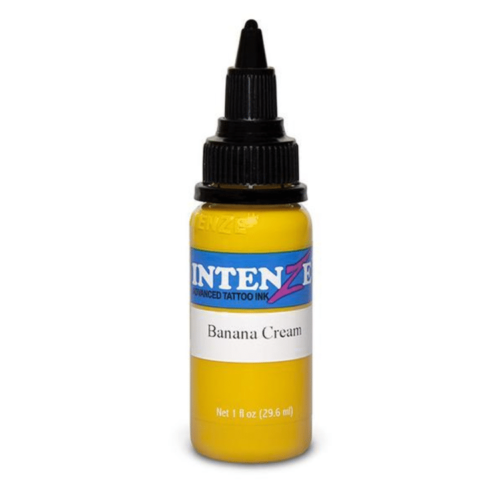 Intenze Tattoo Ink, Banana Cream