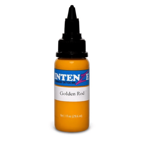Intenze Tattoo Ink, Golden Rod